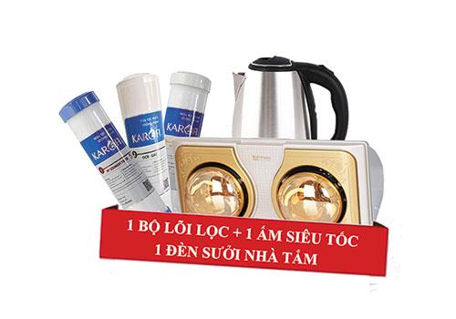 Quà tặng khi mua máy lọc nước Karofi tại Thanh Loan