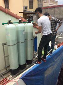 Thay thế vật liệu lọc nước